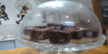 Brownies chocolat marrons , sans beurre ni gluten